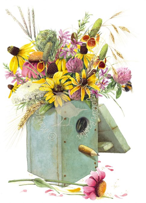 Birdhouse Bouquet