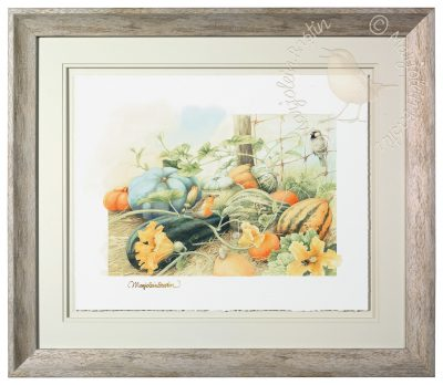 Pumpkins Aplenty – Limited Edition Art Image