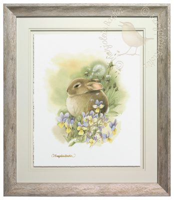 Seaside Pansies – Limited Edition Art Image