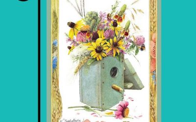 Garden flag featuring Marjolein Bastin art available at Lowes!