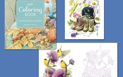 Coming Soon! Marjolein Bastin Coloring Book