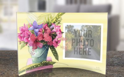 Curved Acrylic Prints from Trendsetters featuring Marjolein Bastin Art!