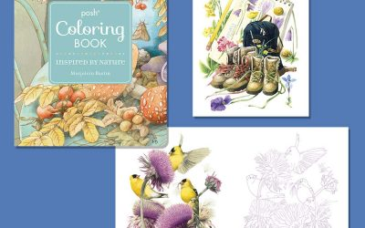 Andrew's McMeel Color book featuring Marjolein Bastin Artwork!