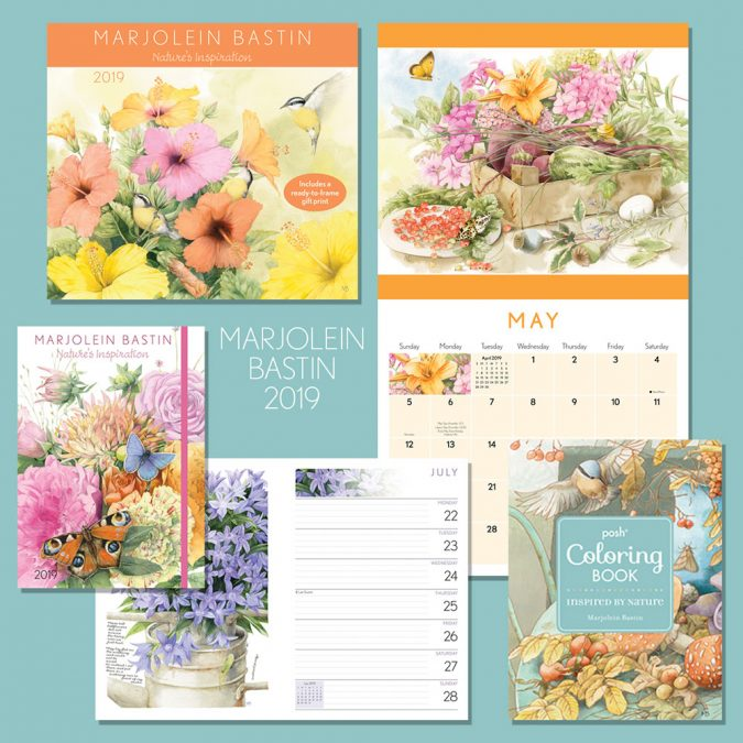 Like Contest Winners Announced! Set of Two 2019 Calendars