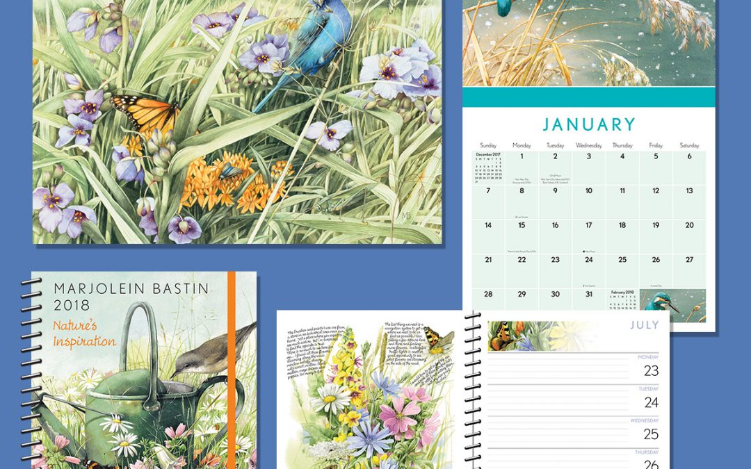 LIKE Content! Win a 2018 Wall Calender or Engagement Calendar