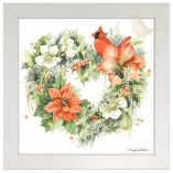 "Season for Love - 10"" x 10"" Framed Prints (Daisy White Frame)"