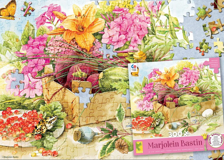 New Puzzles from Ceaco featuring Marjolein Bastin Artwork