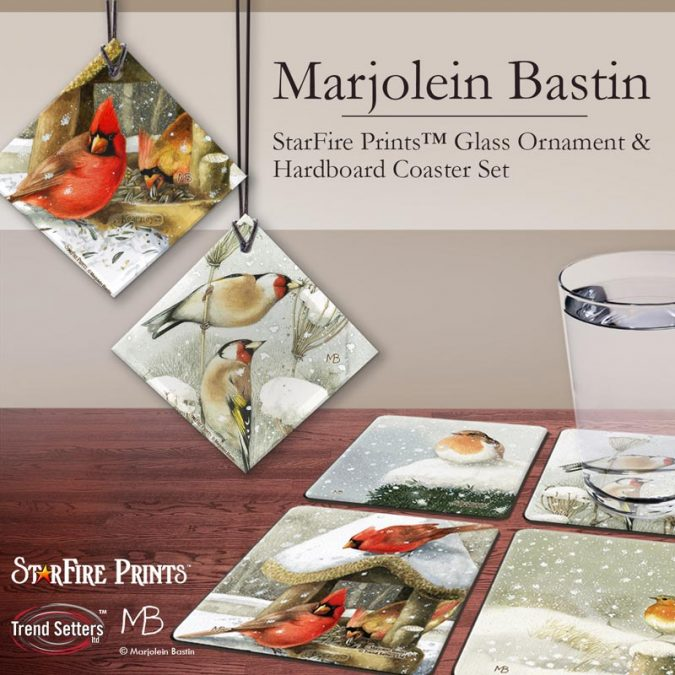 Marjolein Bastin Winter Birds Products by Trend Setters Ltd.