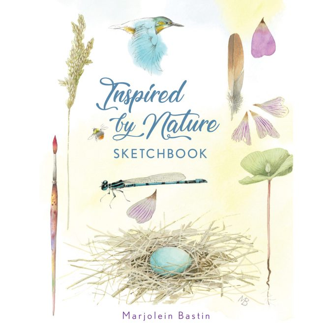 Nature Inspired Sketchbook featuring Marjolein Bastin Art