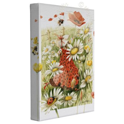 "Share the Joy of Spring! - 9"" x 12""  Gallery Wrapped Canvas"