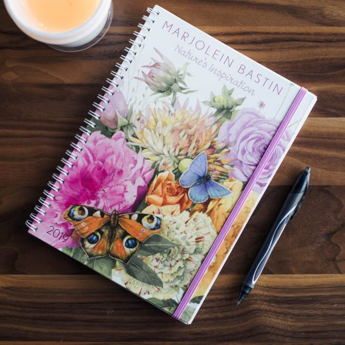 2019 Marjolein Bastin Wall Calendars from Andrews McMeel