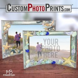 Shells Frames with Custom Photos from Trend Setters Ltd.