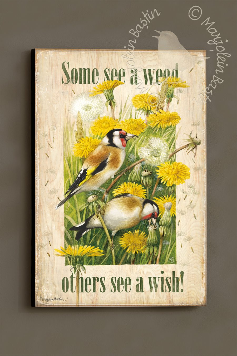 """See a Wish - 18'' x 12"""" Wood Sign"""