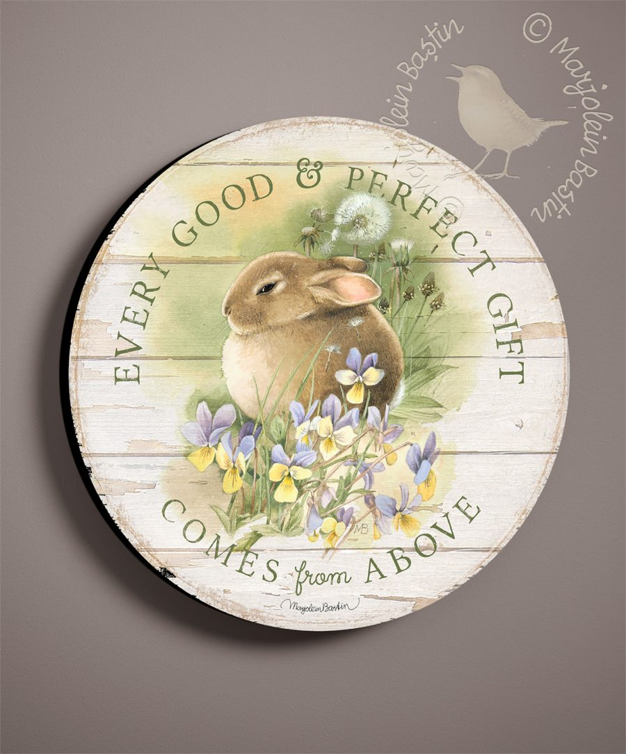 Every Good & Perfect Gift - 21'' Wood Sign