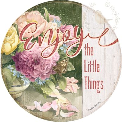 Enjoy the Little Things - 21'' Wood Sign