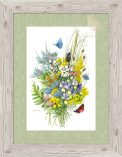 "Wildflower Riches - 15.75"" x 10.5"" Framed Print"