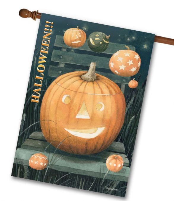 Marjolein Bastin Halloween Flag from Flagology
