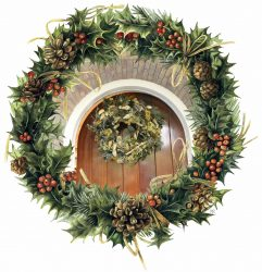 Majorlein's Inspiration – Christmas Wreath