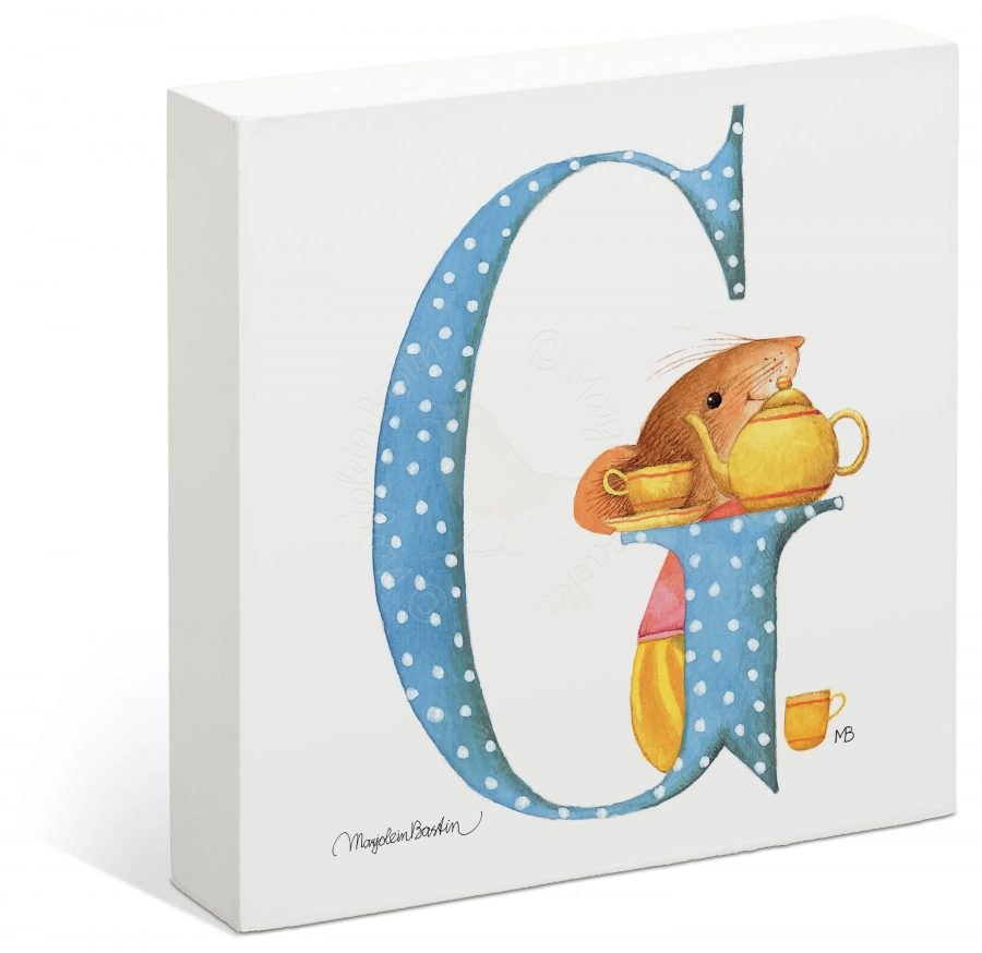 "Vera the Mouse - 6"" x 6"" Box Art (Letter G)"