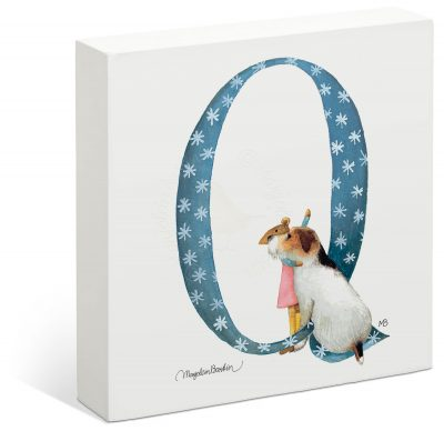 "Vera the Mouse - 6"" x 6"" Box Art (Letter Q)"