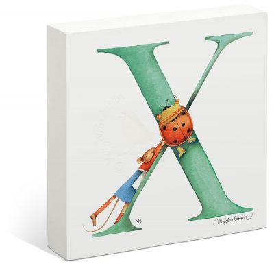 "Vera the Mouse - 6"" x 6"" Box Art (Letter X)"