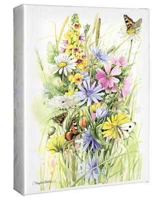 "Roadside Bouquet - 12"" X 9"" Gallery Wrapped Canvas"