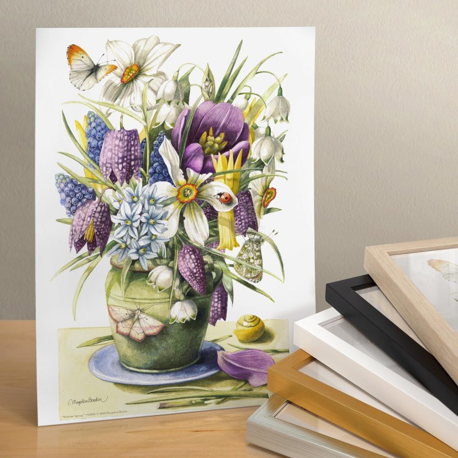 "Welcome Spring - 11"" X 14"" Art Print"