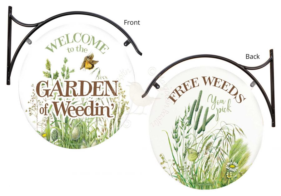 """Welcome to the Cabin - 18"""" Round Metal Sign"""