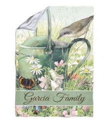 Marjolein Bastin Personalized Blanket from Flagology